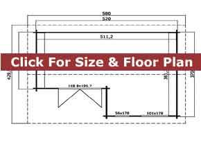 Trentan Brookwood Cabin Floor Plan