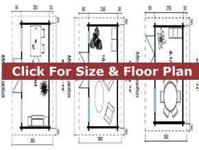 Trentan Dorking Garden Cabin Floor Plan