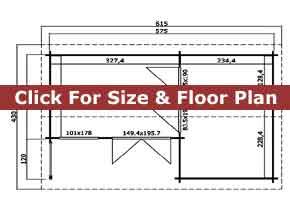 Trentan Dunsfold Multi Room Cabin Floor Plan