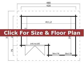 Trentan Haslemere Cabin Floor Plan