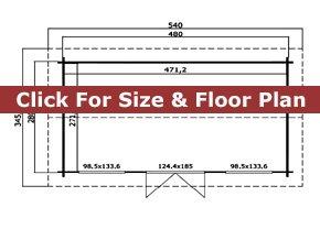 Trentan Puttenham Cabin Floor Plan