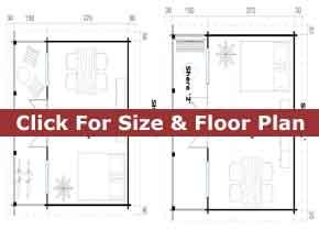 Trentan Shere Timber Cabin Floor Plan