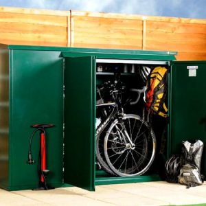SafeStore Gold Allandale Secure Bicycle Shed - 1st Choice Leisure Buildings