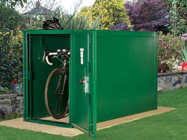 SafeStore Gold Denbydale Bike Shed - 1st Choice Leisure Buildings
