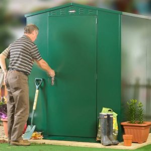 SafeStore Forestdale Metal Apex Shed - Secure Steel Shed Store - 1st Choice Leisure Buldings