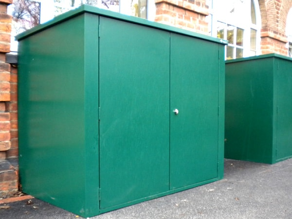 SafeStore Gold Scottsdale Secure Steel Shed - 1st Choice Leisure Buildings